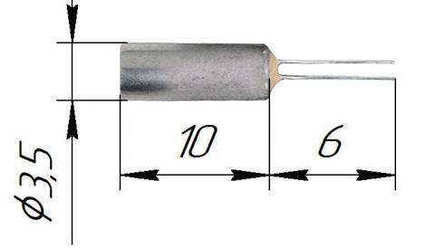Чувствительные элементы платиновые (ЭЧП) стальные