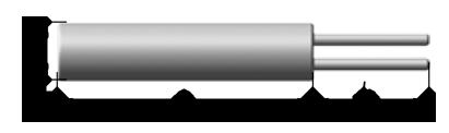 Чувствительные элементы платиновые (ЭЧП) керамические