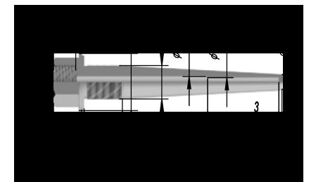 Гильза защитная ДДШ4.819.016 НА Ру 50 МПА