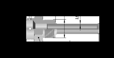 Гильза защитная ДДШ6.119.035 НА РУ 25 МПА