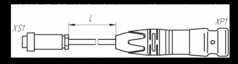 Удлинитель МКСН.434641.032 для ПКЦД-1/100