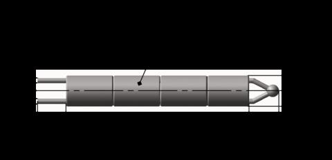 Преобразователи термоэлектрические платинородиевые ТПП 5 182 002, ТПР 5 182 003, ТПР 5 182 004 бескорпусные